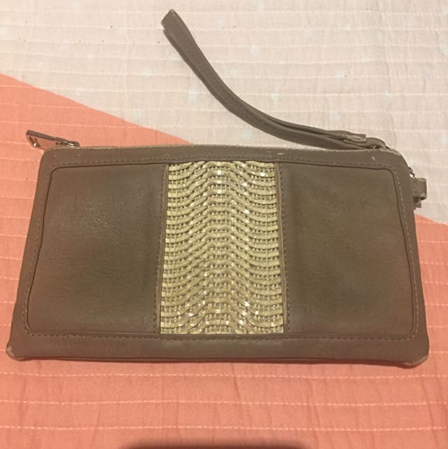 Brown Mocha Clutch