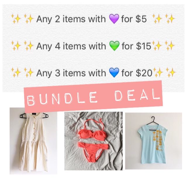 ✨✨Bundle Deal✨✨