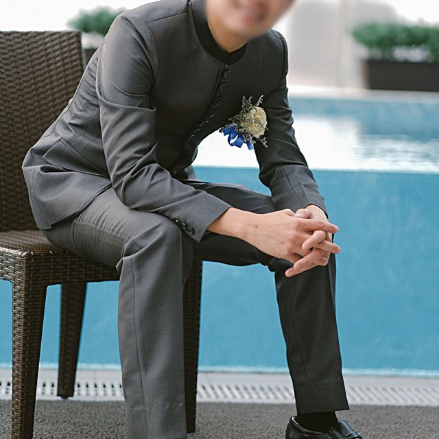 Chinese Colar Suit