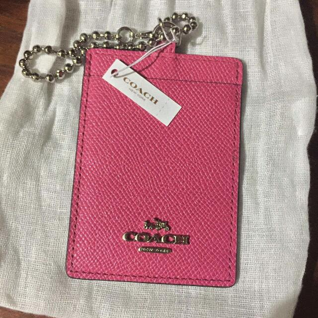 Coach Women's ID and Badge Holder