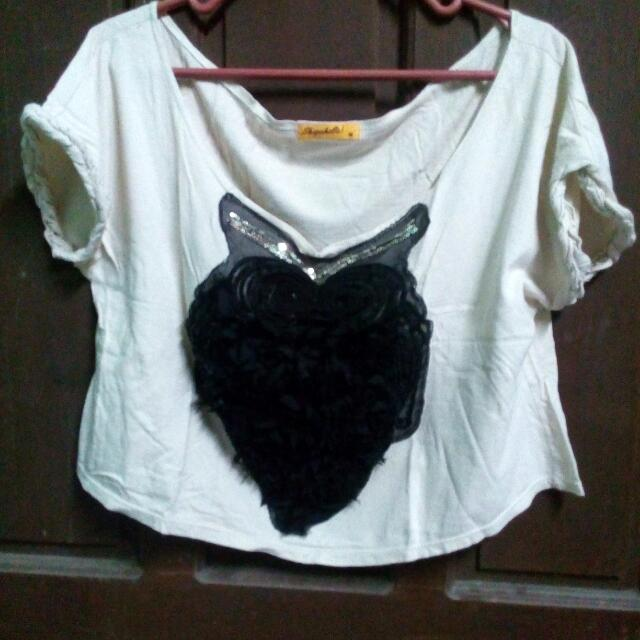 (Shopaholic!) Crop Top