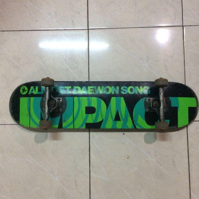 Deck Almost Skateboard Fullset