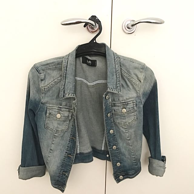 Denim Jacket - Dotti Size 10