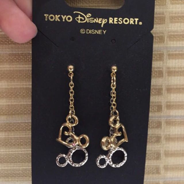 Disney Earings 100% Ori