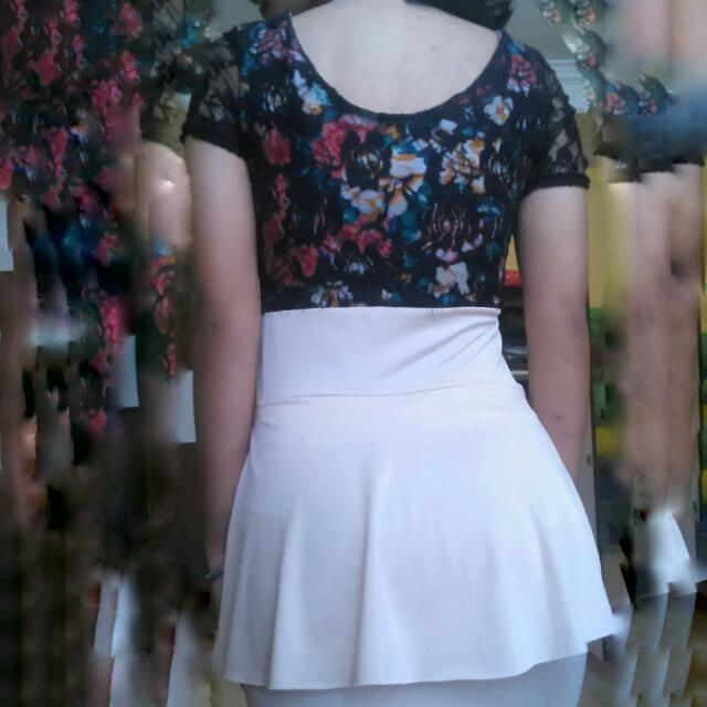 [SALE] Dress Flowers Peplum