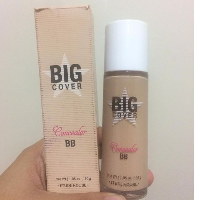 Etude House BIG COVER Concealer BB Spf50+ / Pa+++