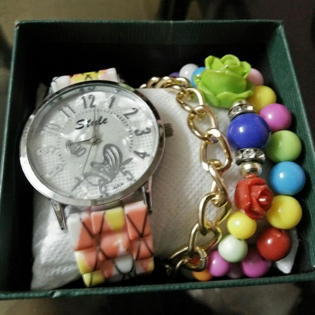 Fashion Watch Set
