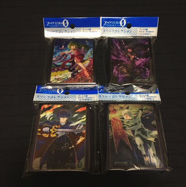 Fire Emblem Cipher - Sleeves, Toys & Games, Board Games & Cards on