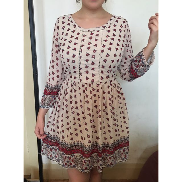 Floral Dress L