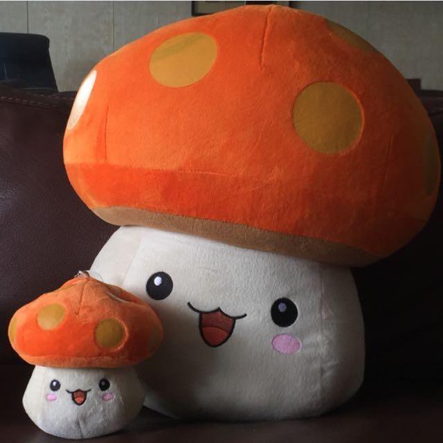 Giant Maplestory Plush Mushroom