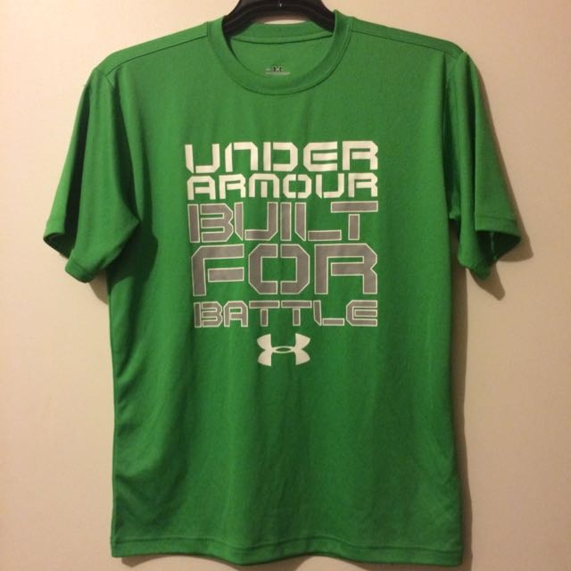 Green Under Armour Shirt (Size S)