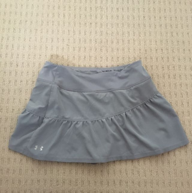 Grey Tennis Skirt