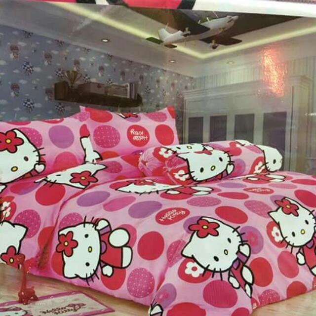 Hello Kitty 3in1 Bedsheet