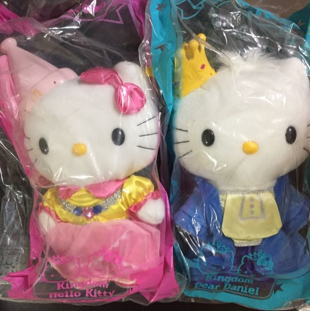 Hello Kitty Sanrio Plush Doll Kingdom King And Queen Wedding Mcdonald