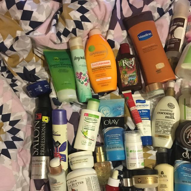 Huge Skincare And Hair Care Collection
