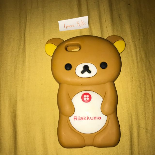 iPhone 5/5s Bear Silicone Case