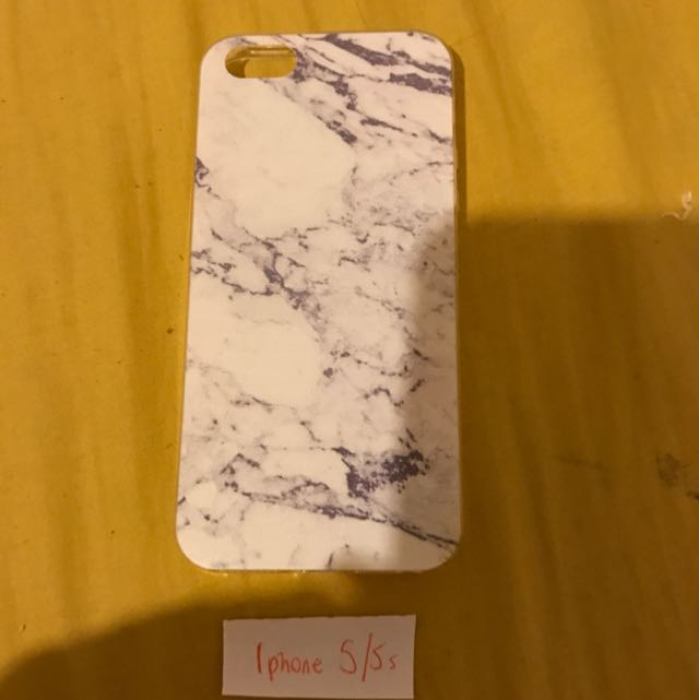 iPhone 5/5s Fake Marble Silicone Case