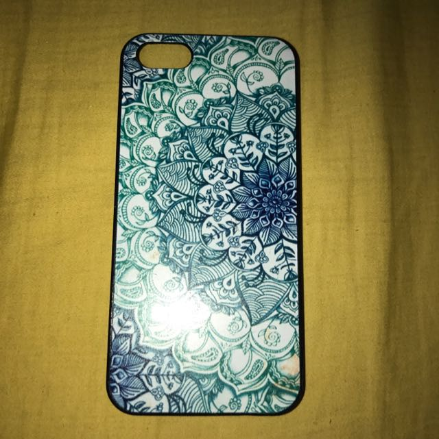iPhone 5/5s Flower Hard Case