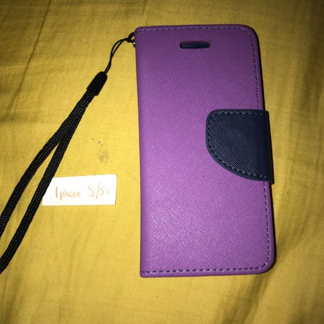 iPhone 5/5s Purple & Navy Blue Cover