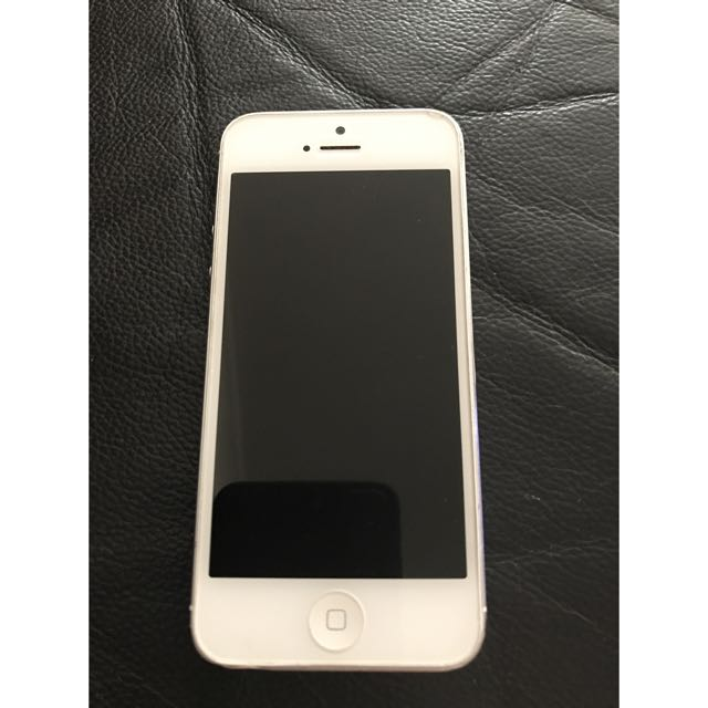 iPhone 5 16gb White/silver