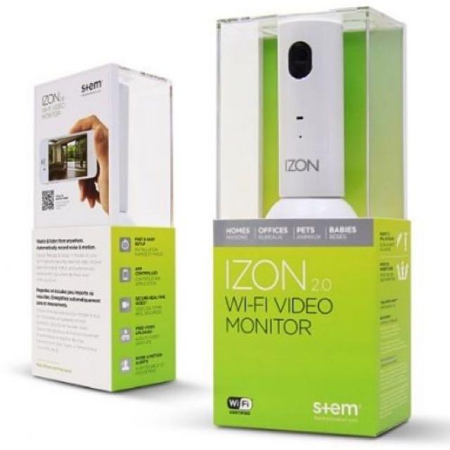 IZON 2.0 Wifi Video Monitor - Excellent Condition