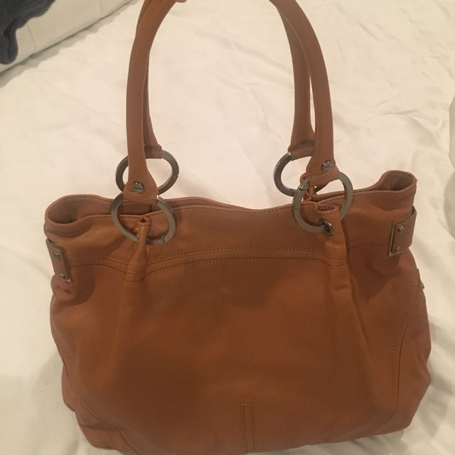 Kenneth Cole tote bag Leather