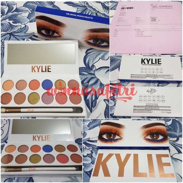 Kylie The Royal Peach Palette - Authentic