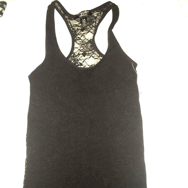 Lace Backing Tank Top
