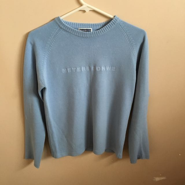 Light Blue Long Sleeves Shirt