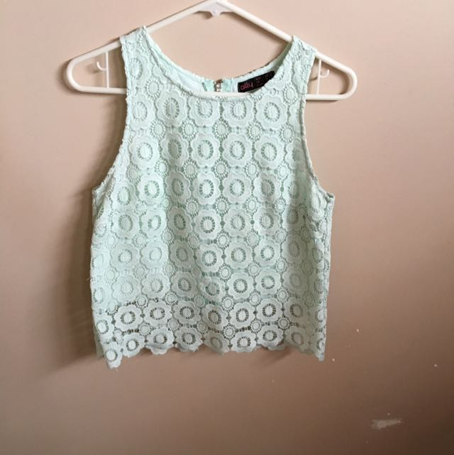 Light Mint Green Ally Top