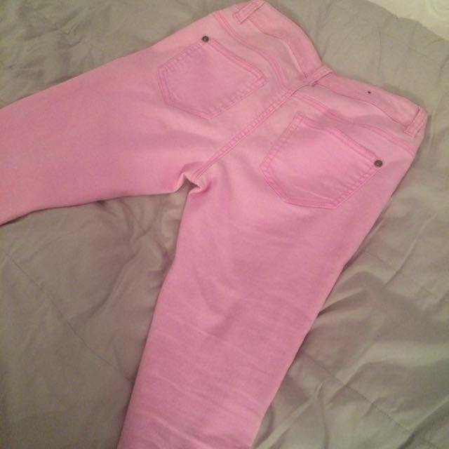 Light Pink Leggings From The Bay