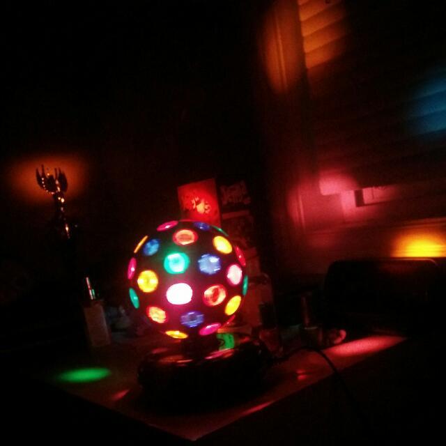 Light Up Disco Ball