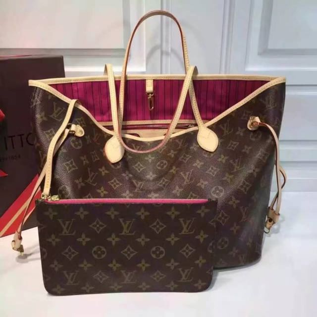LV tote bag include clutch