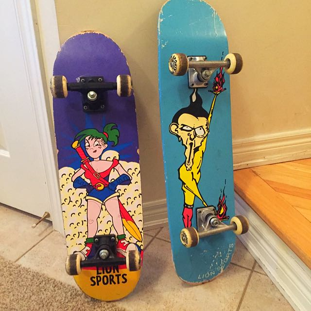 Male/Female Skateboards