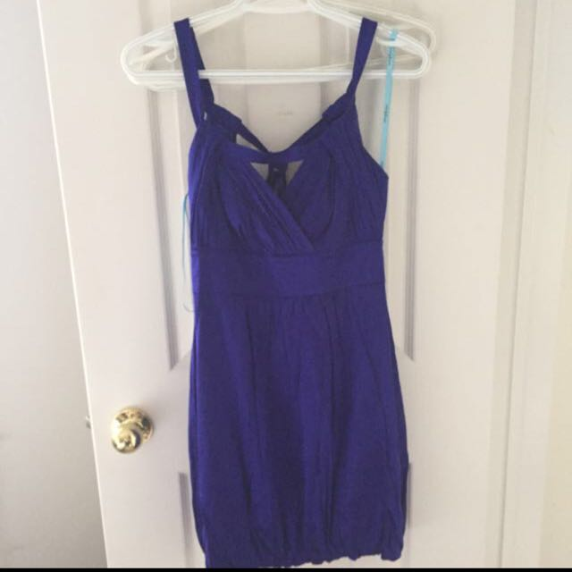 Marciano Blue Bubble Dress -xs