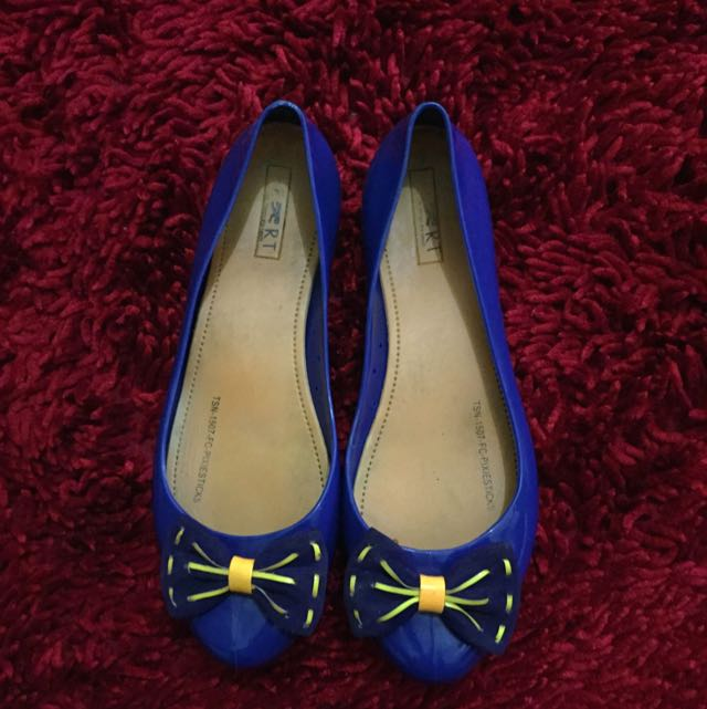 Mavy Ribbon Shoes
