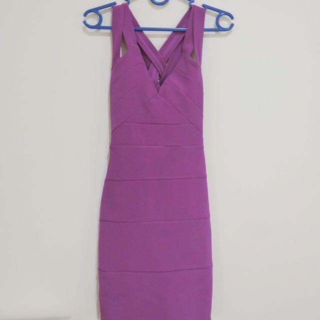 Miss Selfridge Cross Back Dress