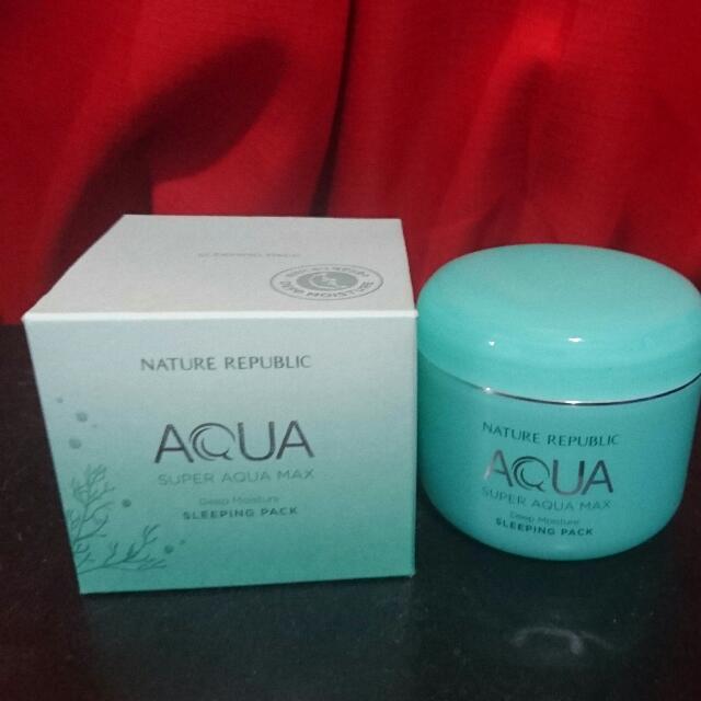 Nature Republic Aqua Sleeping Pack