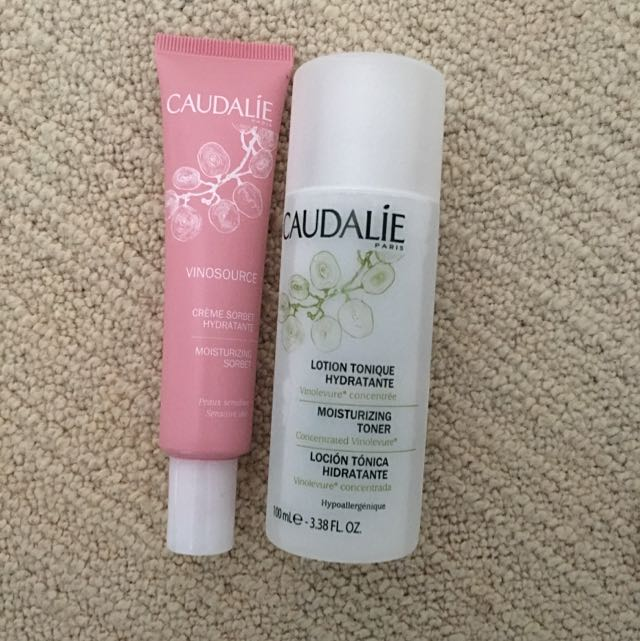 Never Used Caudalie Skin Set