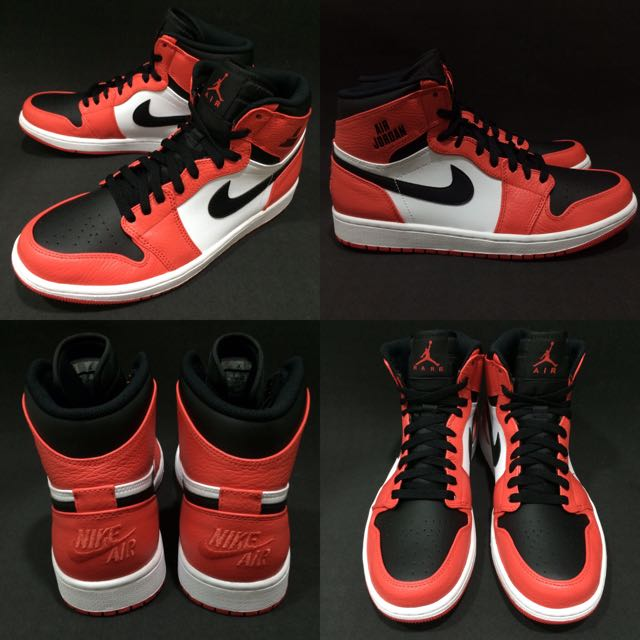 Nike Air Jordan 1 Retro High 黑 橘 全新真品