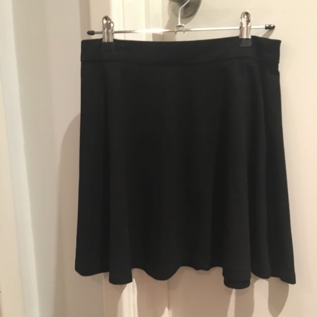 One Way Suede Skater Skirt Size 8