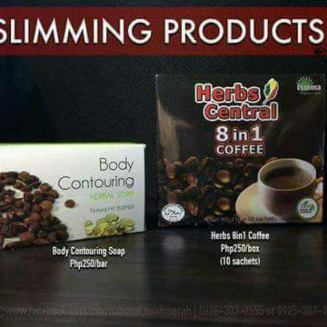 Organic Slimming Products (ONA Coffee, Body Contouring Soap & Capsule)