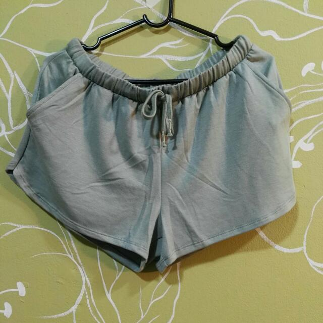 Princess Green Cotton On High Waisted Shorts (INCLUDING POSTAGE)
