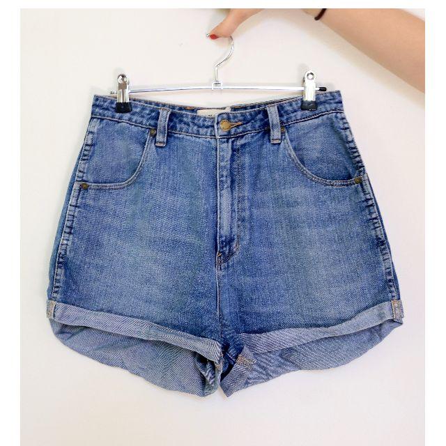 Rolla's High-Rise Denim Shorts