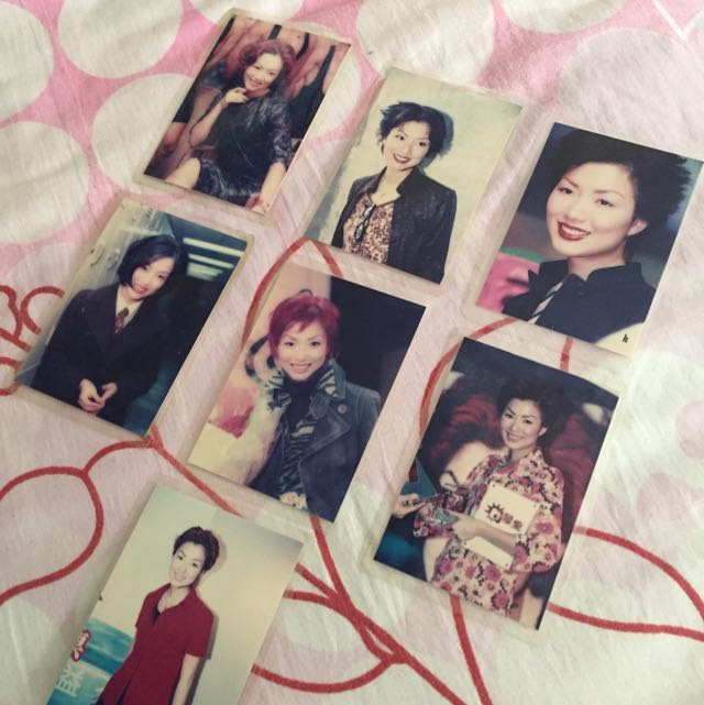 Sammi Cheng's Laminated Photo Card Collectible 7 Pieces