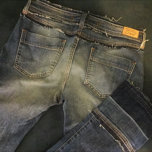 See by Chloé blue denim jeans