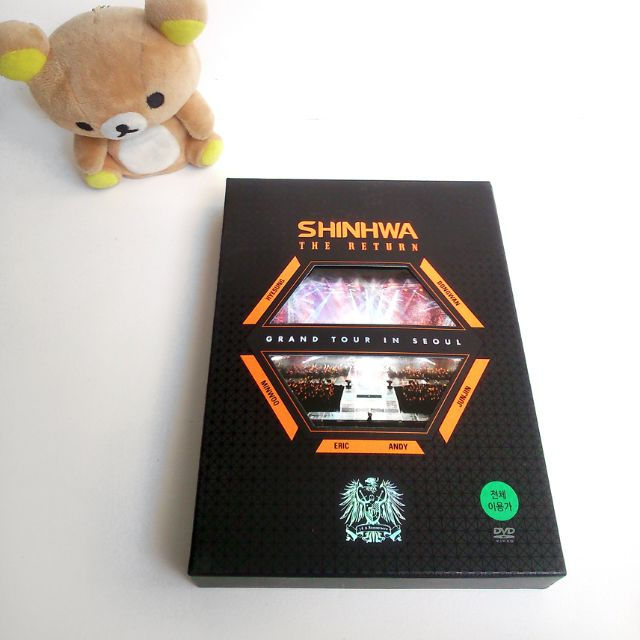 SHINHWA Grand Tour in Seoul The Return DVD