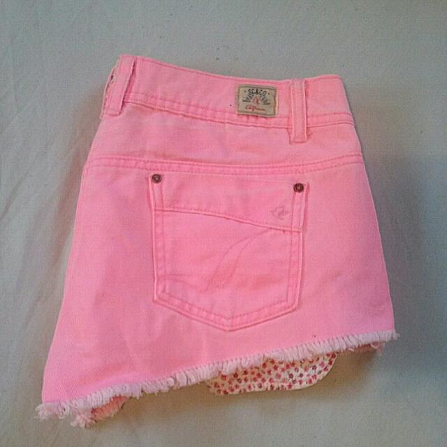 SOULCAL&CO OUTFITTERS Pink Shorts!