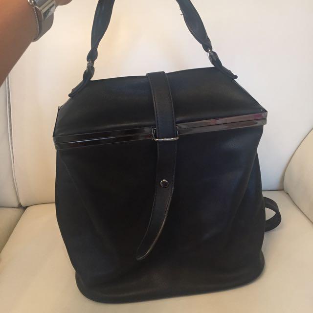 Sports Girl Black Backpack
