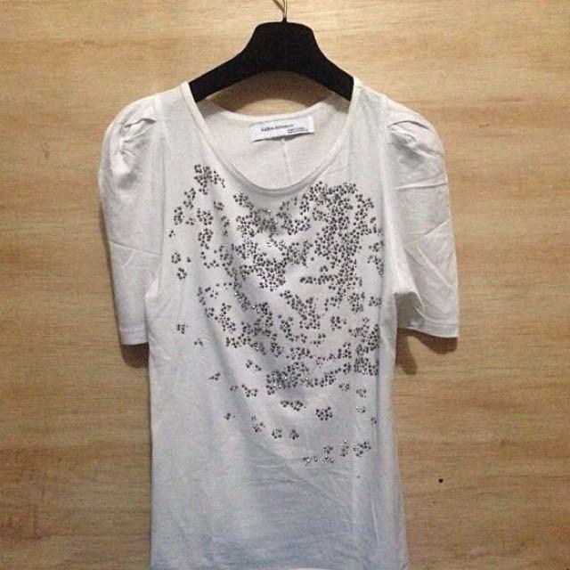 T Shirt Zara , Baju Kaos Zara